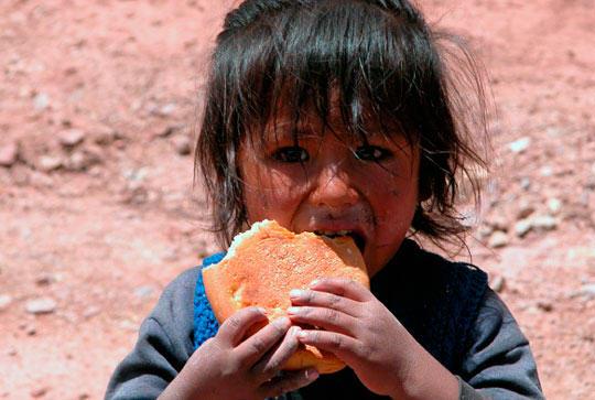 Recuperación nutricional para niños de una región alto andina