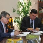 Renovación convenio de colaboración entre la Fundación Gota de Leche y la empresa Sovena