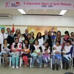 Las donaciones de leche materna para ayudar a menores en riesgo de Lima suman casi 5.000 litros